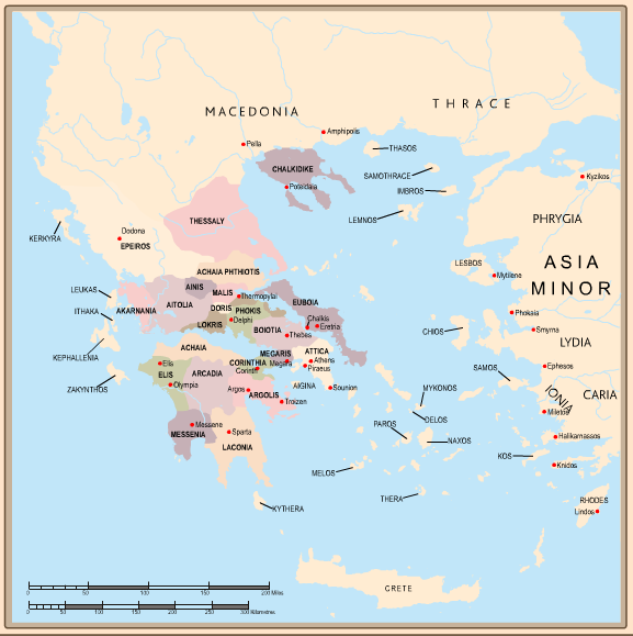Mapping Ancient Greece and Rome